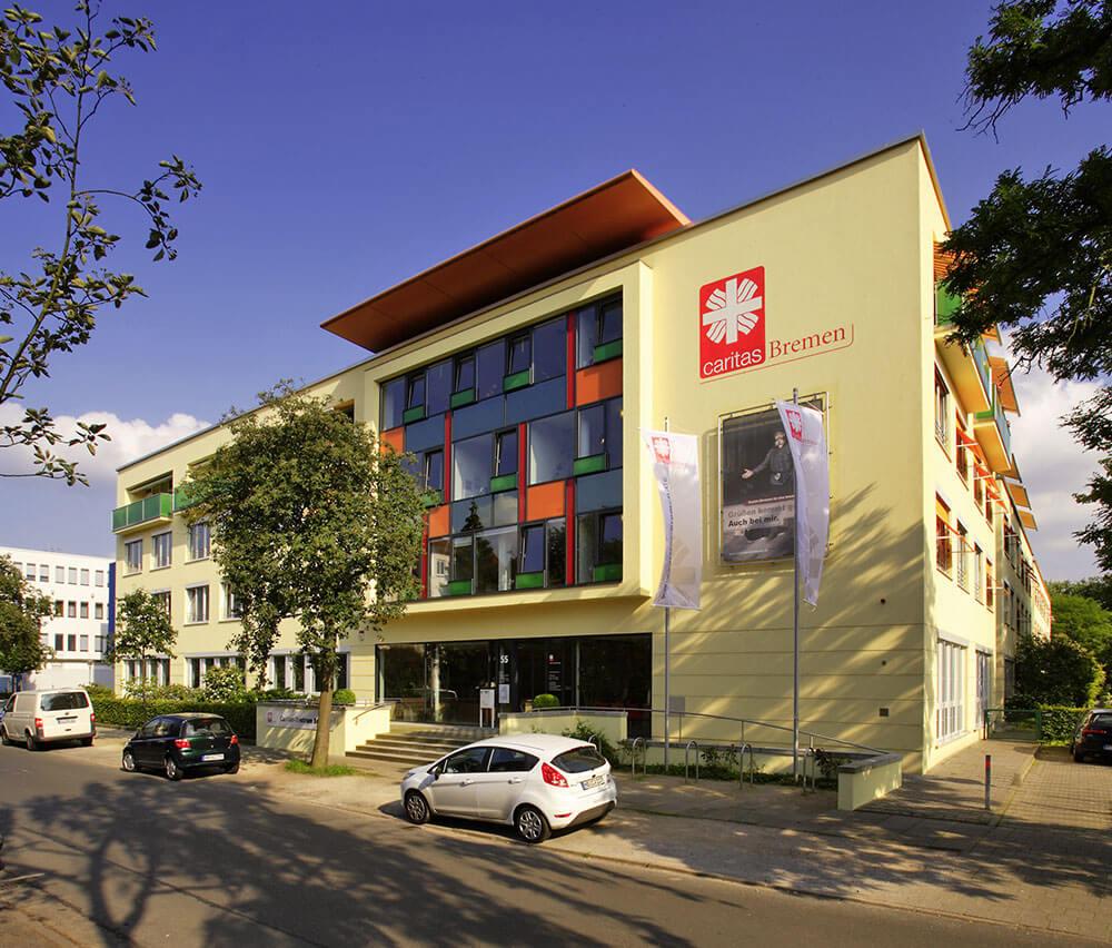 Das Haus der Caritas Bremen